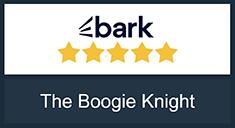 The Boogie Knight Award at  Bark