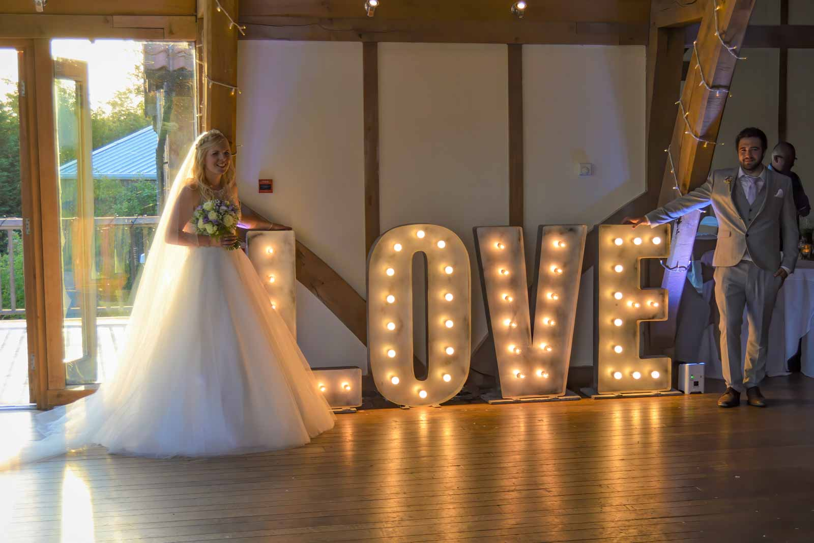 Hire Giant LOVE Letters