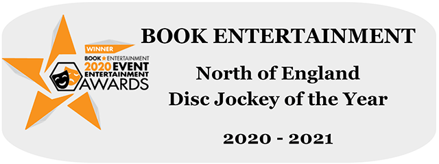 The Boogie Knight Book Entertainment DJ of the Year Award