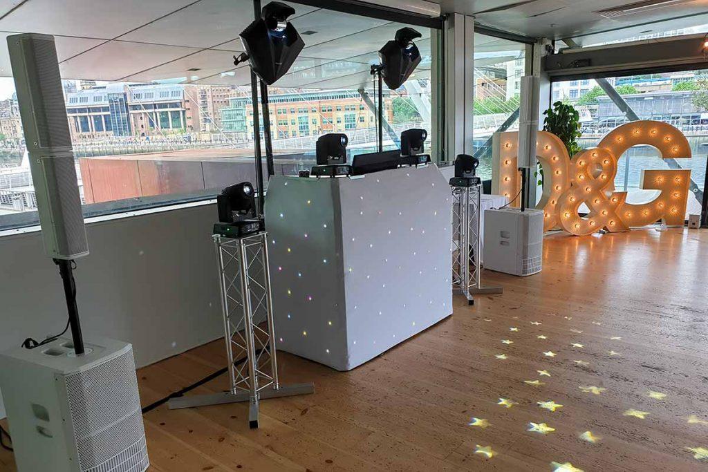 Wedding DJ Hire Setup The Baltic Newcastle